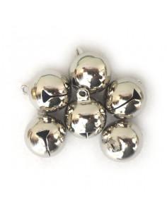 set 6 Sonagli argento 1,5cm