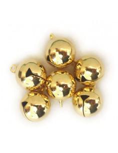 set 6 Sonagli Oro 1,5cm