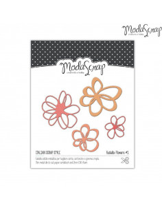 ModaScrap Fustella MSF 1-026 - Flower 1