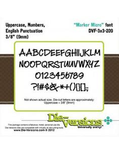 """Die-Versions  """"Marker Micro"""" DVF3x3-209"""