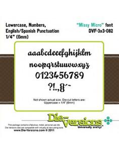 """Die-Versions  """"Missy Micro"""" DVF3x3-082"""