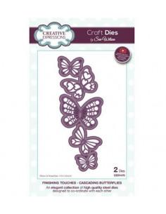 Fustella Cascading Butterflies