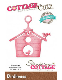 Fustella CottageCutz Birdhouse (Petites)