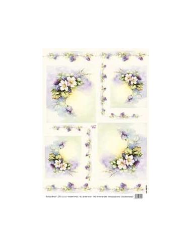 carta riso more fiorite sonie ames