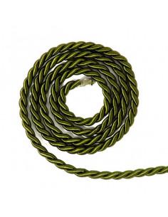Cordoncino 3mm conf. 5mt Verde Oliva