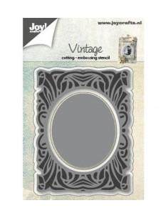 Fustella Cutting & Emboss - 3D - Vintage Frame 6002/0592