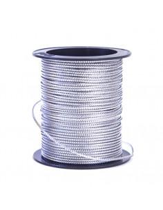Cordoncino Lurex 0,6mm x 5mt Argento