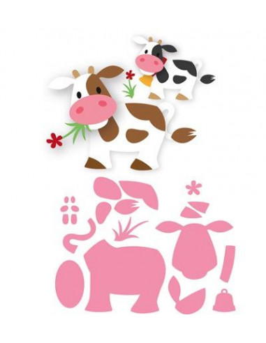 Marianne Design Eline's cow COL1426
