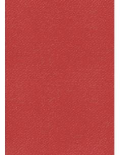 Cartoncino Heyda A4 220gr set 10fg. Rosso