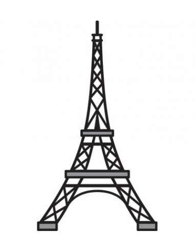Fustella Marianne Design Eiffel Tower CR1220