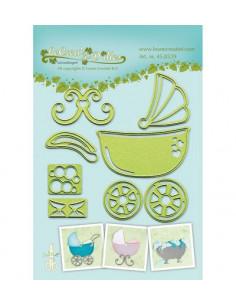 Leane Creatief Die Baby stroller-cradle-bath 450539