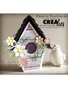 Fustella Crealies Create A Box n13, Casetta Uccellini CAB13