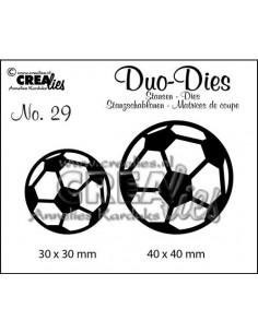 Fustella Duo n.29, Pallone Calcio CLDD29