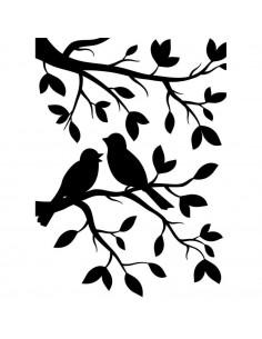 Sagoma embossing Birds Branch EB1219-102