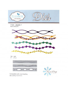 ELIZABETH CRAFT DIE - Jewels 1 EC1123