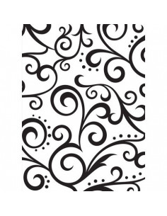 Sagoma embossing Scroll Background EB1216-62