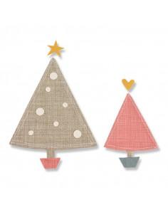 Fustella Sizzix Bigz - Oh, Christmas Tree 661732