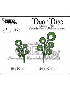 Fustella Duo n.38, Leaves 6 CLDD38