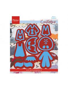 Fustella Marianne Design Kim's Buddies LR0474