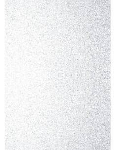 Foglio A4 Glitter Bianco 200gr