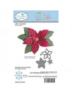 ELIZABETH CRAFT DIE - Poinsettia EC1067