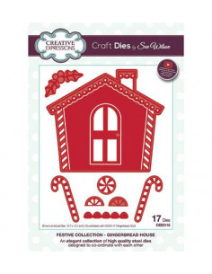 Fustella, Gingerbread House CED3116