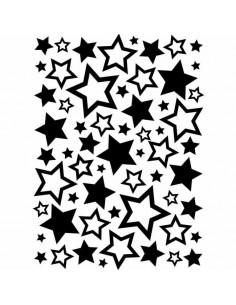 Libretto Embossing - Stars Assortment EB1218-63
