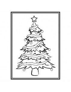 Libretto Embossing - Christmas Tree EB1215-56