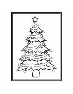 Libretto Embossing - Christmas Tree EB1215-56