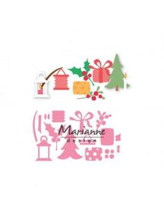 Fustella Eline's Christmas decoration COL1439