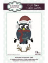 Fustella Stitched Collection - Owl CEDLH1004