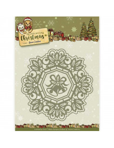Fustella - Jingle Bells Circle Frame YCD10113