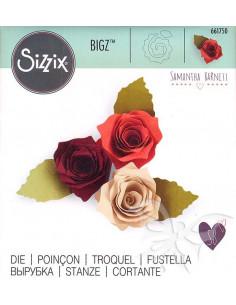 Fustella Sizzix Bigz - 3-D Rose 661750