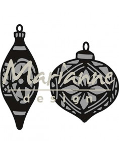 Fustella Marianne Design - Tiny's ornaments baubles CR1379