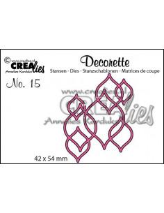 Fustella Decorette no.15 Interlocking shapes CLDR15