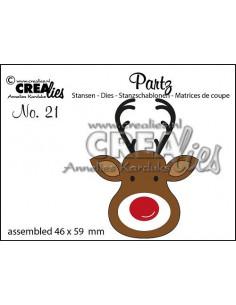 Fustella Partz n.21 Reindeer CLPartz21