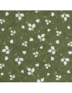 Rotolo Feltro Stampato Renkalik PROVENCE Verde-Bianco