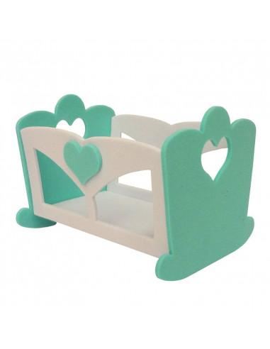 Fustella per feltro - Culla Baby DF171201