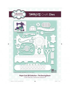 Fustella Paper Cuts 3D Collection - The Sewing Room CEDPC1019