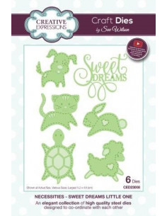 Fustella The Necessities Collection - Sweet Dreams Little One CED23008