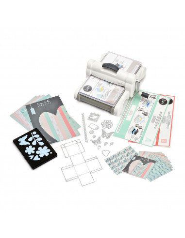 New Sizzix Big Shot Plus Starter Kit (White & Gray)