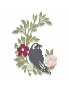 Fustella Sizzix Thinlits Songbird 661749