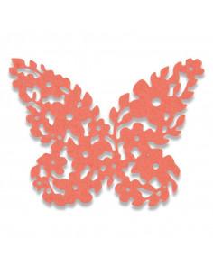 Fustella Sizzix Thinlits Floral Butterfly 661743