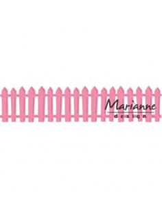 Fustella Marianne Design White picked fence COL1423