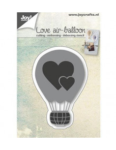 Fustella - Love airballoon 6002/0665