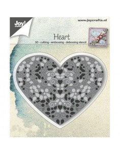 Fustella - Heart filled 6002/0786