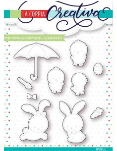 Fustella La Coppia Creativa Primavera RU238