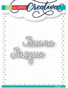 Fustella La Coppia Creativa Buona Pasqua S29