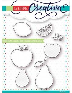 Fustella La Coppia Creativa Frutti deliziosi RU220