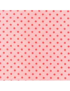 Foglio FELTRO 30x40cm 1mm POIS Rosa Pastello-Rosa 25017144